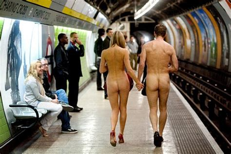 The naked office london underground commuters strip off jpg 468x312